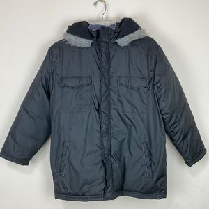 French Toast Boys Winter hooded Coat Size L (12)